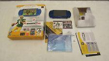 Sony PSP-2001 Madden NFL 09 Bundle Blue Handheld System