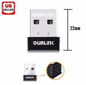 600Mbps Mini USB Wireless WiFi 802.11 ac/a/b/g/n LAN Internet Network Adapter
