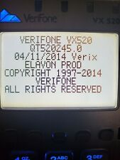 New ListingVeriFone M252 Credit Card Machine -Vx520