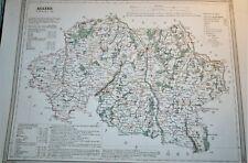 03 Allier carte gravure Dufour Duvotenay 1860 (75-7)