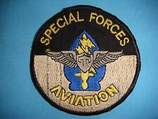 PATCH US JOHN F. KENNEDY SPECIAL WARFARE CENTER &  SCHOOL AVIATION