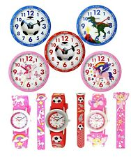 Ravel Children Kids Time Teacher Wall Design Clock Support Teaching Time Gift