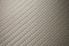 Vinyl Fabric Lt.Gray Carbon Fiber Faux Leather Car Upholstery 54