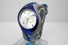 NIKE TRIAX SWIFT 3H SPORT WATCH -BLUE/SILVER - WR0093