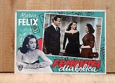 FEMMINA DIABOLICA fotobusta poster Maria Felix Victor Junco Doña diabla D52