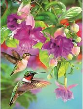 Diy 5D Diamond Painting Full drill Embroidery Kits Hummingbird