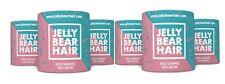 6x Jelly Bear Hair Haar Vitamin Gummibärchen für gesundes starkes dichtes Haar