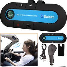Wireless Bluetooth Handsfree Car Clip Kit Portable Speaker for iPhone Samsung UK