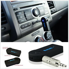 3.5mm Wireless Bluetooth AUX Audio Stereo Music Home Car Receiver Adapter w/ Mic