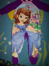 Sofia the First Blanket Sleeper Girls Sleepwear 1pc Sz 2Toddler Winter NWT