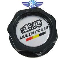New Black Engine Oil Filler Cap Tank Cover Mugen Aluminum For Honda Acura Civic