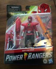 Power Rangers BEAST-X RED RANGER Beast Morphers Morph-X Key Action Figure Hasbro