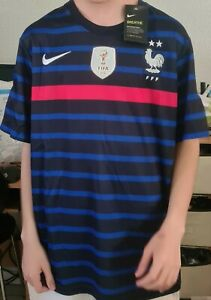 Nouveau maillot équipe de France euro 2021 taille S M L XL avec ou sans flocage