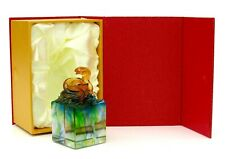 Art Glass Snake Sculpture & Box Private French Glass Collection