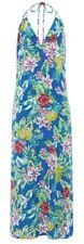 Monsoon Accessorize Beach Hawaiian Maxi Dress Tropical Multi Floral Size L Bnwt