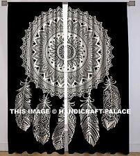 Traumfänger Mandala Baumwolle Vorhang Zimmer Hause Indischen Tür hängen Fenster
