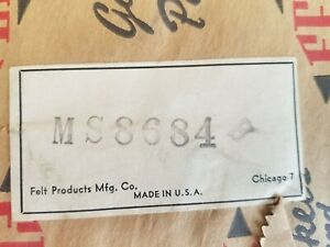 Vintage Fel-Pro MS 8684 B Manifold Gasket MS8684B - Free Shipping - MFG in USA