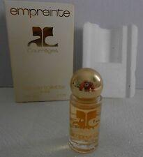 Miniature de parfum Empreinte de Courreges EDT 3,5 ml + boite