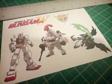 Mobile Suit Gundam Wing. Stickers