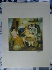 BOTERO  / LITHOGRAPHIE + CERTIFICAT