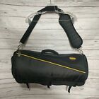 """SkyRoll Roll-Up Travel Garment Bag Compact Suit 23"""" Carry-On Luggage Black Nylon"""