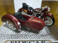Toyway 1/18 scale  Motorcycle and Sidecar Red BNIB