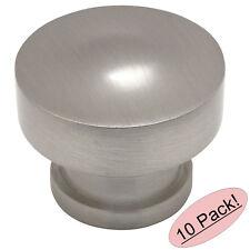 *10 Pack* Cosmas Cabinet Hardware Satin Nickel Contemporary Cabinet Knobs #704SN