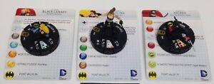 Heroclix Batman: Streets of Gotham set Birds of Prey Team Pack (3 figures)!