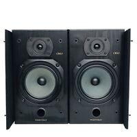 Wharfedale CRS3 2 Way Speakers 8 Ohms Impedance 100W Hi-Fi Stereo - Black