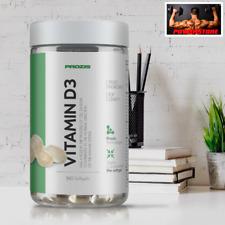 Prozis Vitamin D-3 360 softgels - Vitamina D3 - Aiuto per Ossa e Circolazione