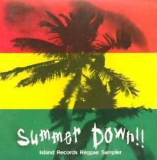 Summer Down: Island Records Reggae Sampler PROMO Music CD Bob Marley w/ Artwork