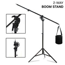 Photography Light Stand Kit with Boom Arm and Sandbag For Studio Flash Strobe