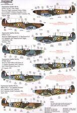 Xtradecal X32054 1:32 Supermarine Spitfire Mk.I/Mk.IIa Pt 2 - 3 Markings Options