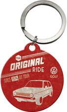 Schlüsselanhänger - VW Golf 1 Key Ring original 4 cm Volkswagen Service Tuning