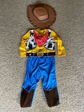 3-4 Years Woody Toy Story Costume Worn Couple Times