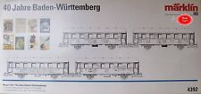 MÄRKLIN 4392 insieme automobile 40 anno nuotata Württ. 4 pezzi#NUOVO