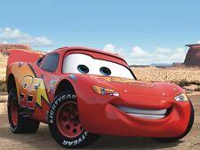 DISNEY CARS  MOVIE ART PRINT POSTER - Lightning McQueen 11x14 OUT OF PRINT