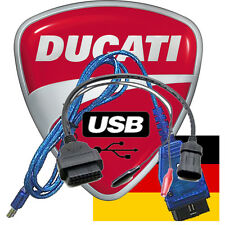 Diagnose Ducati MV Agusta Guzzi Morini TPS Reset Fehler Auslesen &  Löschen USB