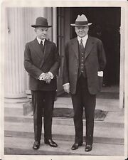 Jan 7th, 1929 - President-Elect Herbert Hoover with Calvin Coolidge - News Photo