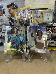 2009 Topps Chrome NFL Cards Cheerleaders 🏈🔥rare Sports Cards SP