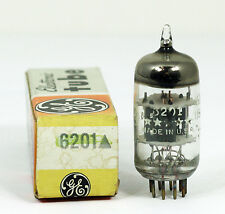 NOS General Electric 5 Star 6201 Preamp Tube - Hickok Tested