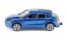 SIKU BLUE PORSCHE MACAN TURBO, LOVELY MODEL, NEW IN BOX, VERY HARD TO FIND IN UK