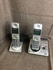Panasonic DECT 6.0 Cordless Phone Set KX-TG1031S 2 Handsets