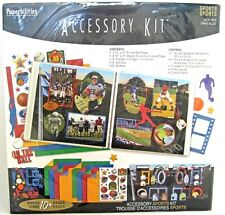 Paperbilities SPORTS Accessory Kit 10+ Pages 12 x 12 New in Package