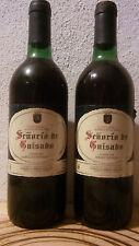 2 Botellas de vino / 2 Wine Bottles SEÑORIO DE GUISADO Cosecha Seleccionada 1997