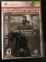 Tom Clancy's Splinter Cell (Microsoft Xbox, 2002) Factory Sealed