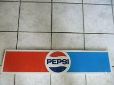 PEPSI SHELF TOPPER STORE DISPLAY ADVERTISING SODA POP PEPSI COLA ORIGINAL SIGN