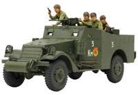 TAMIYA 1/35 Military Miniature Series M3A1 SCOUT CAR Plastic Model