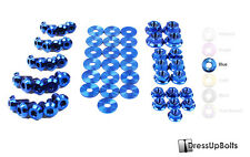 Dress Up Bolts for 03-12 Mazda RX-8 RX8 FE/FE3P Blue Titanium Engine Bay Kit