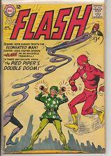 DC Comics Flash #138 August 1963 Elongated Man & Pied Piper VG